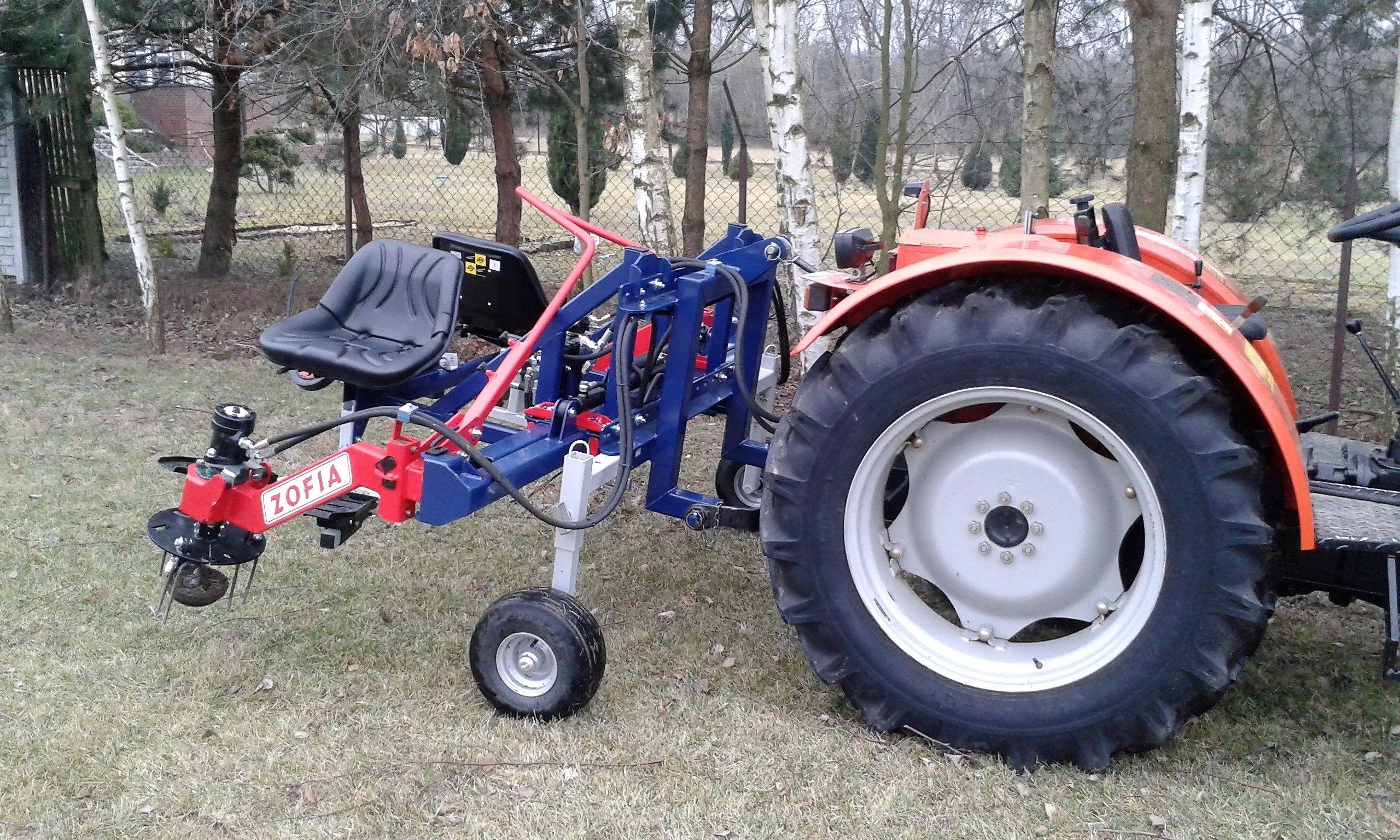 Side Hydraulic Weeder ZOFIA   JAGODA JPS Orchard machines